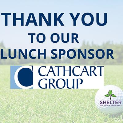 "Cathcart Sponsors ""Shelter for Help in Emergency"" Golf Tournament"