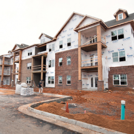 Upscale Apartments Rising In Rockingham