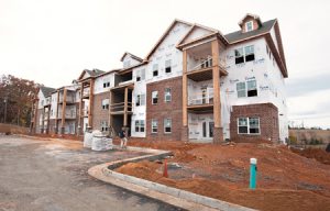 The Reserve at Stone Port in Harrisonburg Cathcart Virginia Mixed-Use Construction Company